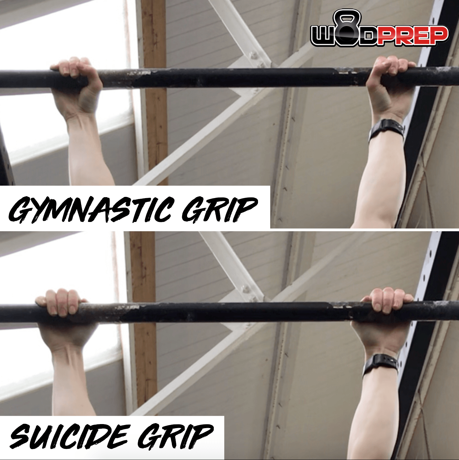 how to grip for pull-ups