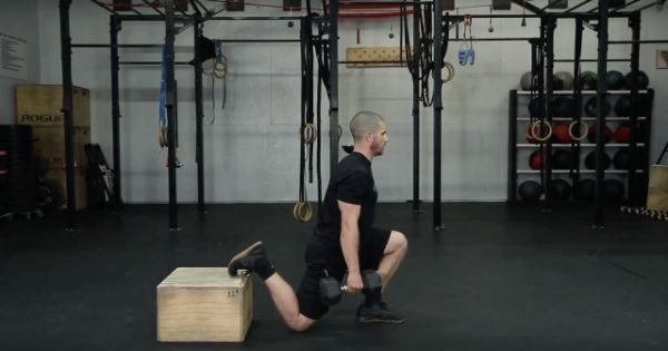 Hip mobility drill