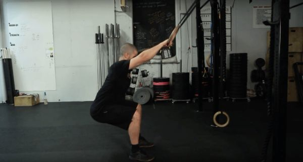 hip mobility stretch